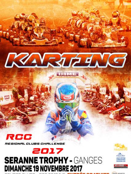 11/10/2017 : Seranne Trophy «RCC 5/5» – Course Clubs – Dimanche 19 novembre – Circuit Kartix Parc de Ganges