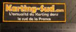 Les broderies Karting-Sud.com disponibles !
