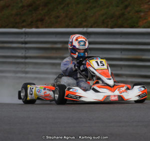 Championnat de France Long Circuit – Yoann Sanchez Champion de France KZ2 Master !
