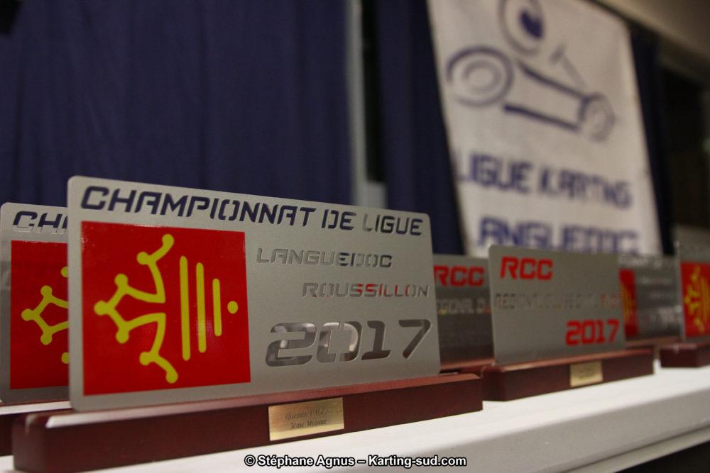 Remise des Prix 2017 de la Ligue Karting Languedoc-Roussillon – Les photos