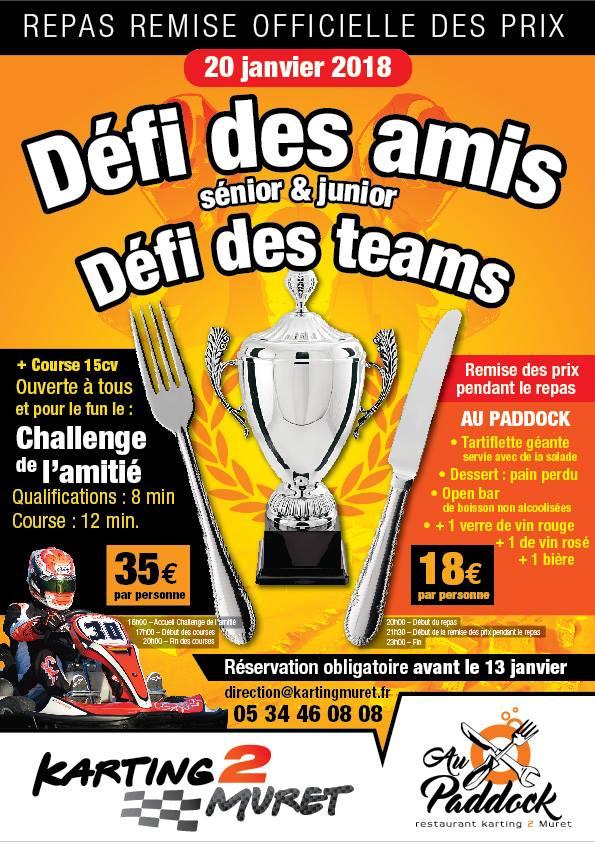 défi des amis - Karting 2 Muret