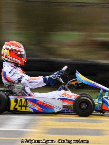 Premières courses et premiers podiums pour Alpha Karting