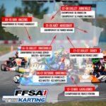 Inscriptions ouvertes pour la saison FFSA Karting 2018