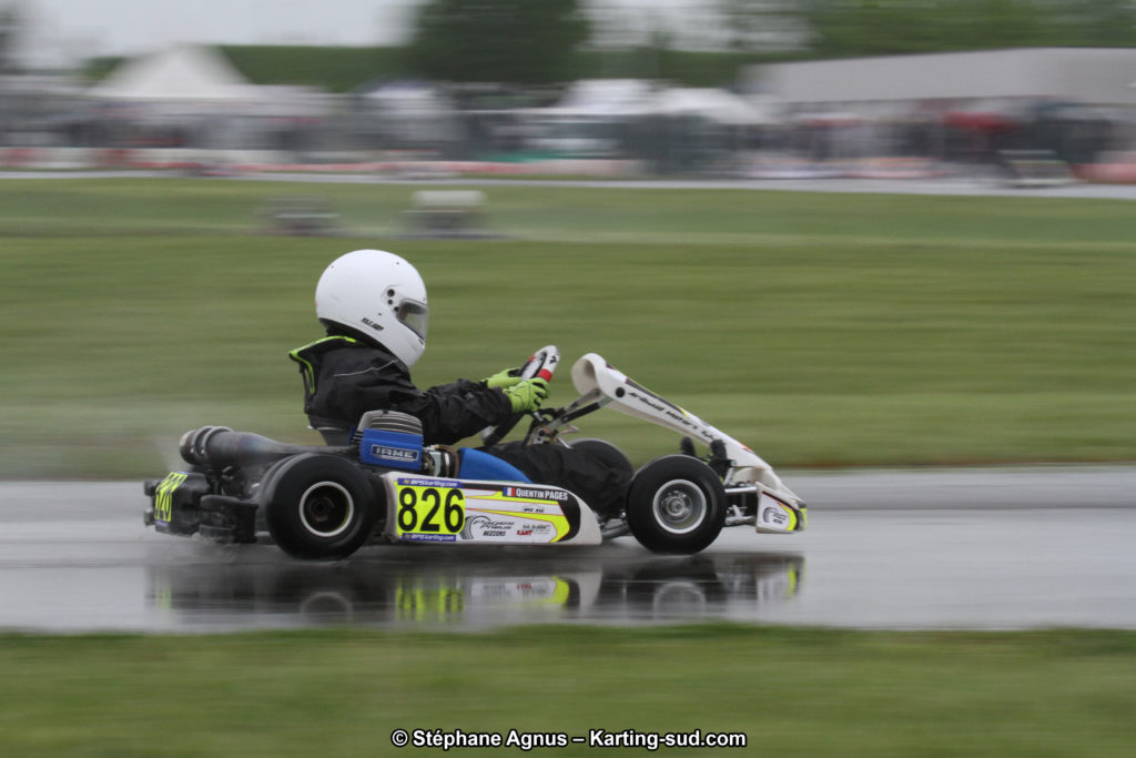 Karting catégorie Minime France