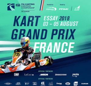 CHAMPIONNAT D'EUROPE OK / OK-J – TROPHÉE INTERNATIONAL HANDIKART – ESSAY 3-5 AOUT 2018 – Finale européenne en Normandie