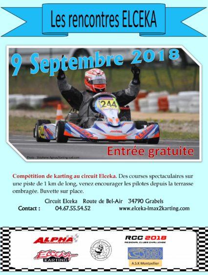 Les Rencontres ELCEKA 2018 le 9 septembre à Grabels