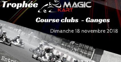 Trophée Magickart «RCC 4/4» – Course Clubs – Dimanche 18 novembre – Circuit Kartix Parc de Ganges