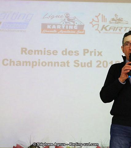 Remise des Prix du Championnat du Sud 2018 – Les Photos