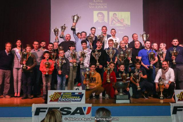Remise des Prix 2018 Automobile et Karting Occitanie Pyrénées