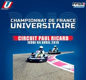 CHAMPIONNAT DE FRANCE UNIVERSITAIRE – PAUL RICARD – 4 AVRIL 2019