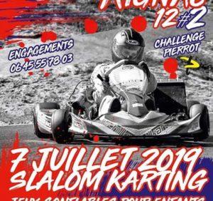 Slalom Karting le 7 juillet à Rignac