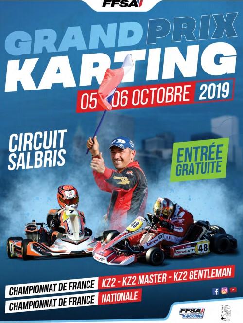 CHAMPIONNATS DE FRANCE – SALBRIS – 5 & 6/10 2019