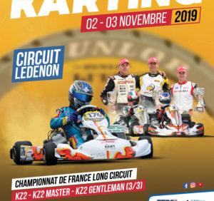 CHAMPIONNAT DE FRANCE LONG CIRCUIT 3/3 LEDENON