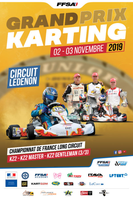 CHAMPIONNAT DE FRANCE LONG CIRCUIT 3/3 LEDENON