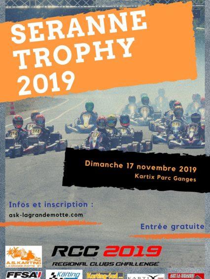 Seranne Trophy 2019 – Course clubs – Ganges (34) – 17 novembre 2019