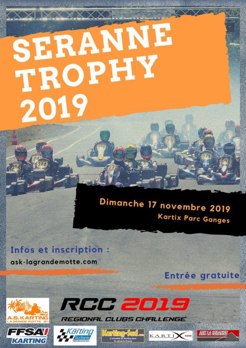 Seranne Trophy 2019 - Course clubs - Ganges (34) - 17 novembre 2019