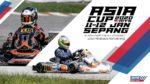 ASIA CUP 2020 les 11 et 12 janvier à Sepang (Malaisie)