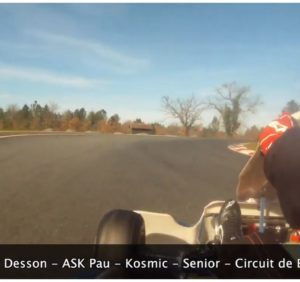 Un tour du circuit de Biscarrosse avec Yannick Desson