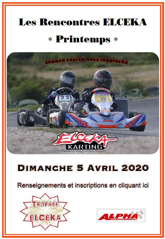 Trophée ELCEKA 2020 - Les Rencontres ELCEKA Printemps