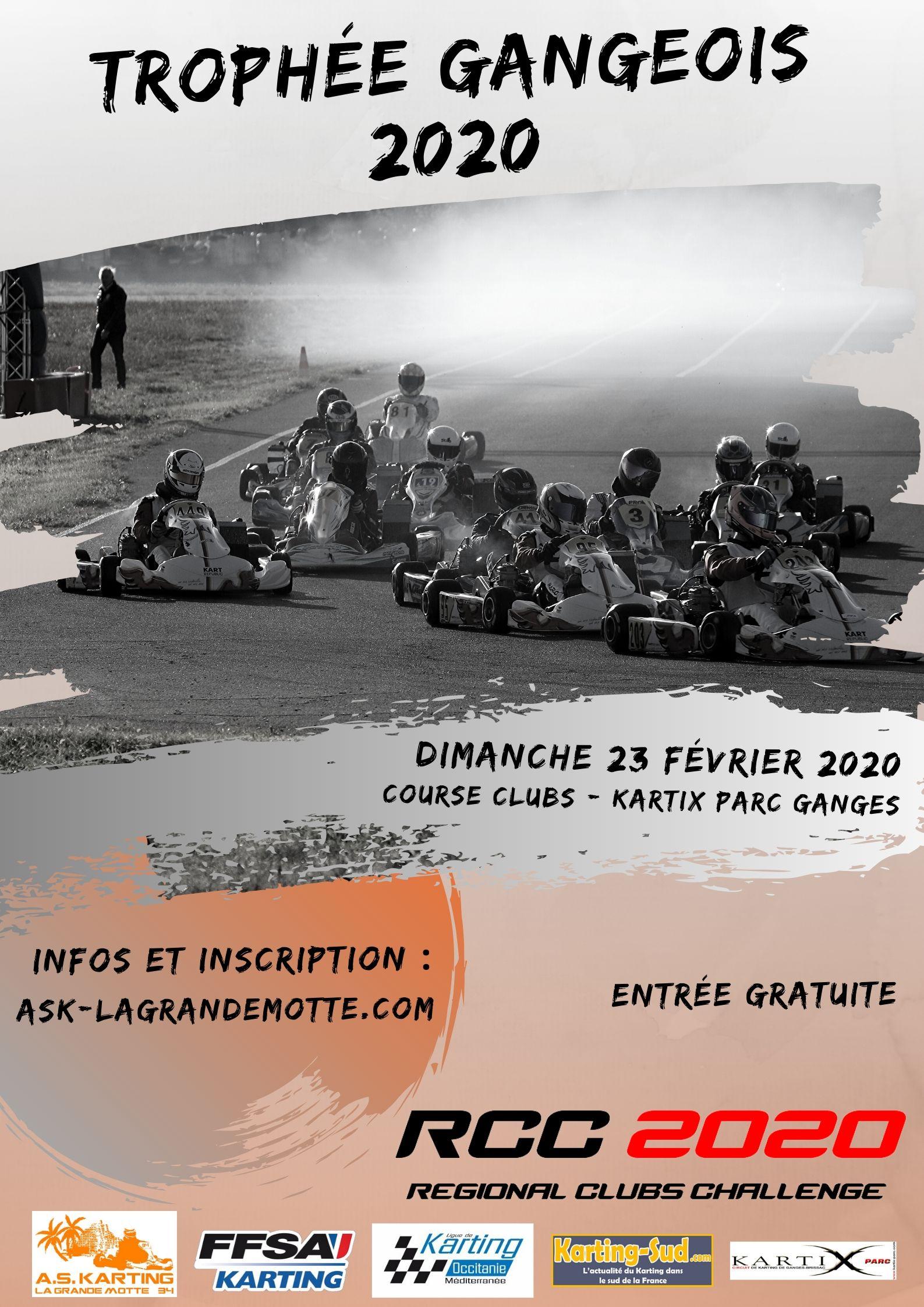 Trophée Gangeois - Ganges (34) - 23 Fevrier 2020