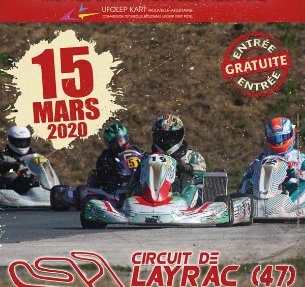 Trophée UFOLEP Nouvelle Aquitaine 2020 – 1ère manche à Layrac