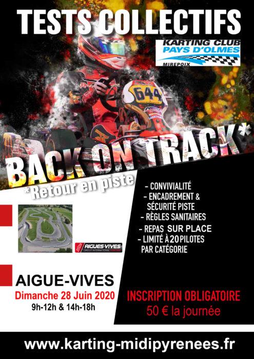 Journée club à Aigues-Vives le dimanche 28 juin