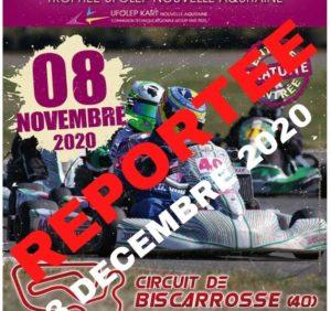 Quatrième épreuve du Trophée UFOLEP Nouvelle Aquitaine 2020 à Biscarrosse reportée