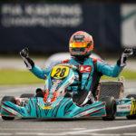 CHAMPIONNAT DU MONDE FIA KARTING - KZ - LONATO - Jérémy Iglesias, 1er Champion du Monde KZ de l'histoire du karting français