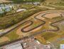 Circuit Haute-Garonne Karting de Muret dernière ligne droite !