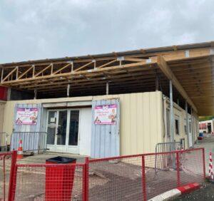 Avancement des travaux au circuit d'Aigues-Vives
