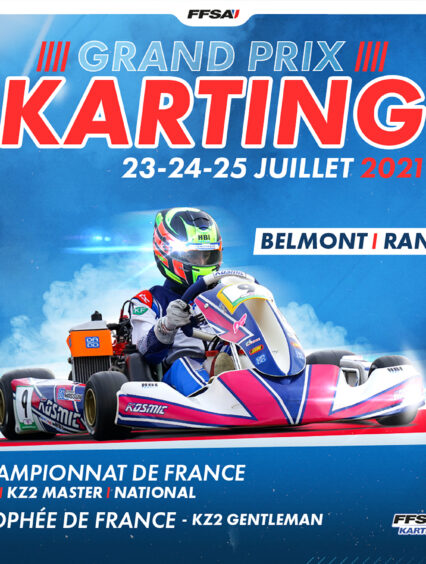 BELMONT – 24 & 25 JUILLET – Cap au sud pour le lancement de la saison FFSA Karting Sprint