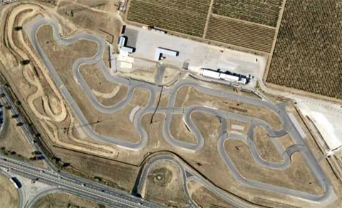 Circuit Karting de Rivesaltes (66)